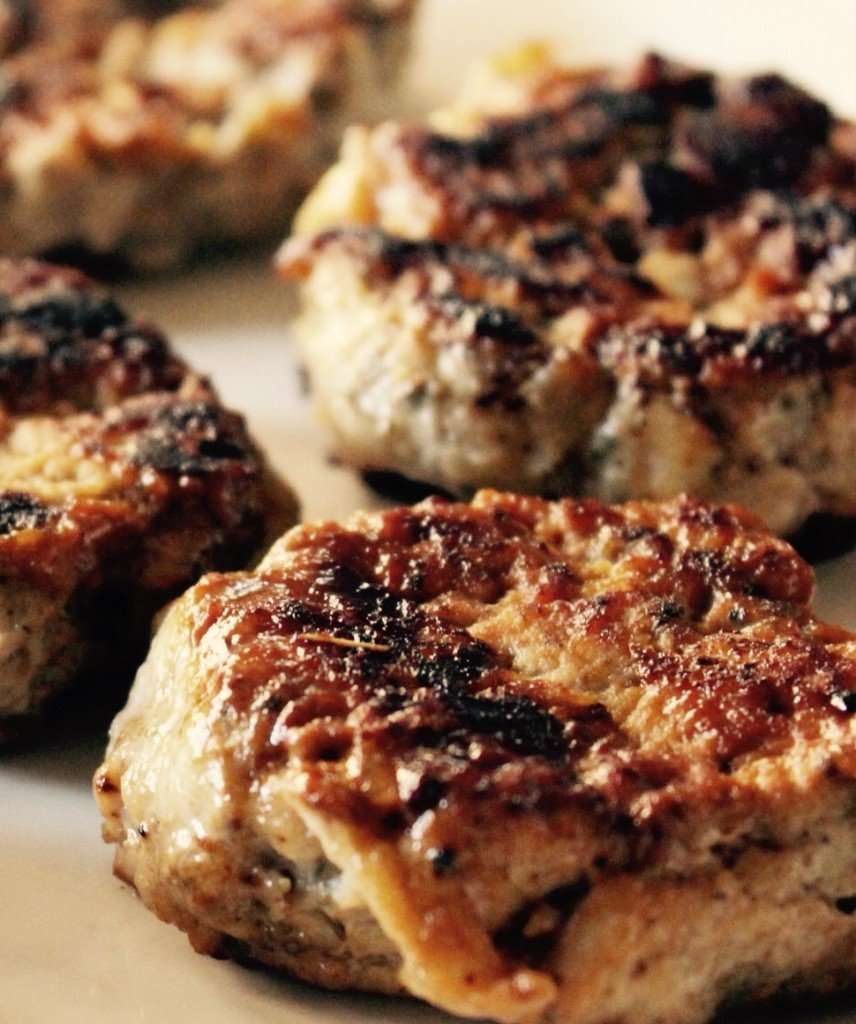 Chicken-and-Apple Patties Recipe — Dishmaps