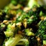 Classic Garlic Sautéed Broccoli