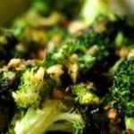 Classic Garlic Sautéed Broccoli