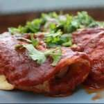 Paleo Chicken Enchiladas