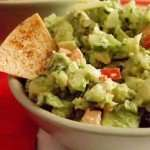 World's Greatest Guacamole with Baked Paleo Tortilla Chips