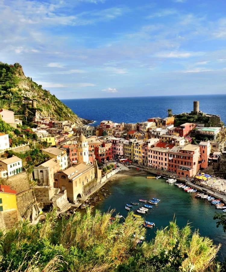 Beautiful and charming Vernazza