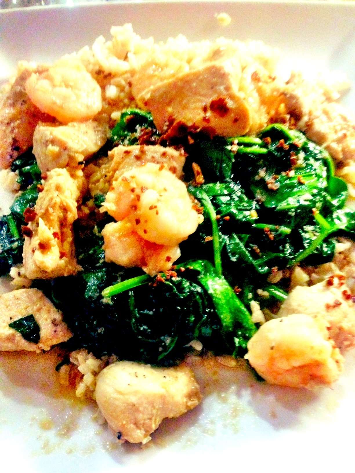Hot Thai Kitchen – Garlic Pepper Chicken and Shrimp | The Paleo ...