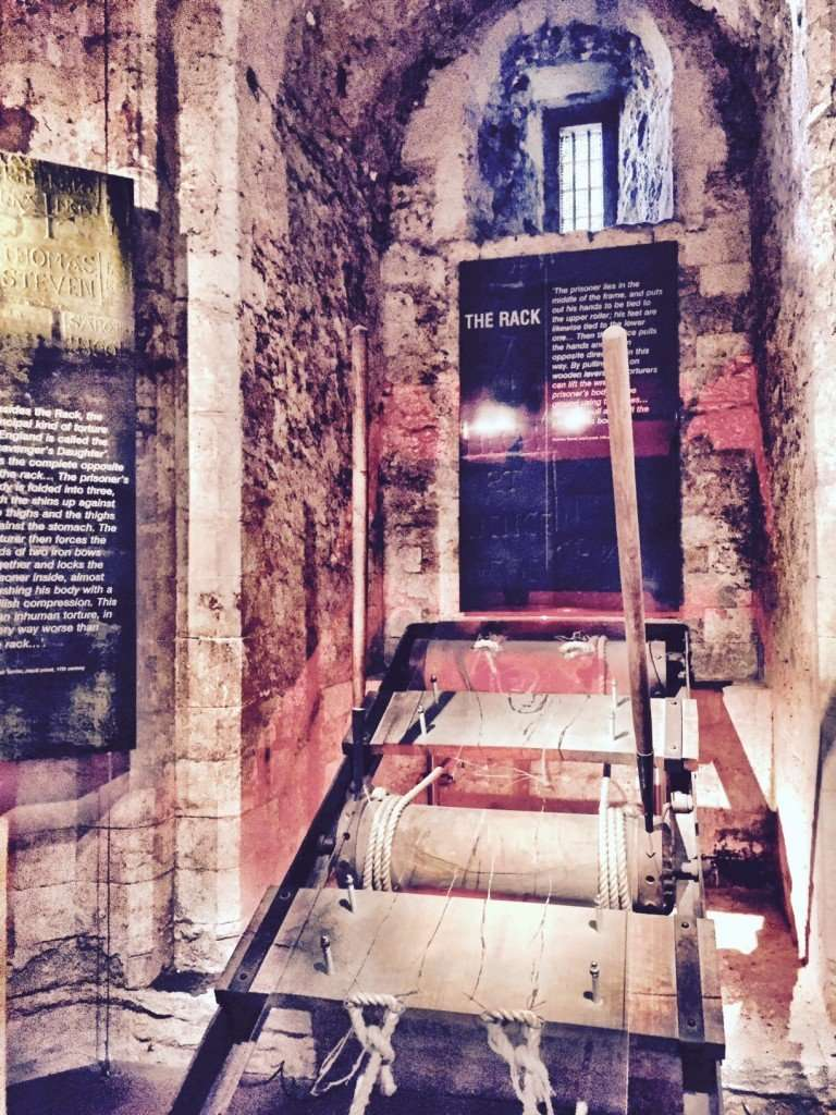 Prisoner torture secrets of the Tower of London