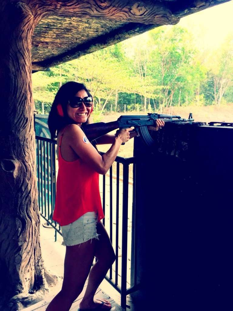 Shooting AK-47s