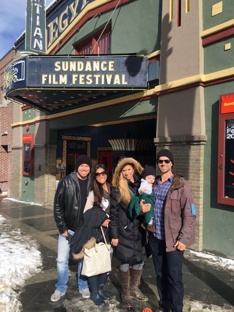 Sundance...a little early but the sign is up!