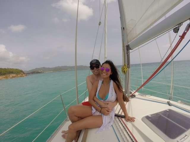 Exploring the beautiful seas of Antigua